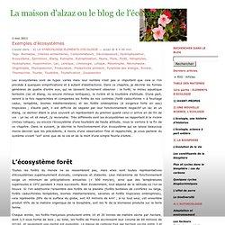 Exemplesd'écosystèmes « La maison d'alzaz ou le blog de l'écologie