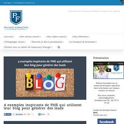 4 exemples inspirants de PME qui utilisent leur blog pour générer des leads