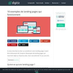 10 exemples de landing page qui fonctionnent
