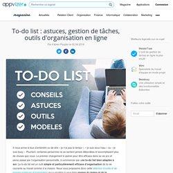To-do list : exemples de logiciels de gestion de tâches