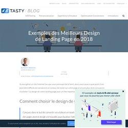 Exemples des Meilleurs Design de Landing Page en 2018