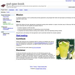 gwt-gae-book - Project Hosting on Google Code