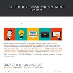 38 exemplos incríveis de vídeos em Motion Graphics – Produtora de vídeo