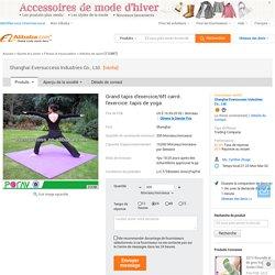 Grand tapis d'exercice/6ft carré. l'exercice. tapis de yoga-Articles de sport-Id du produit:646352929-french.alibaba.com
