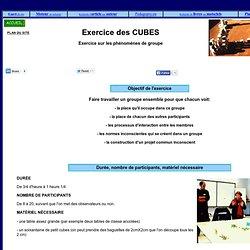 Exercice de formation pour l'animation de groupes