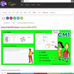 Exercice de Math CM1 à Imprimer – Exercices de Maths CM1 PDF