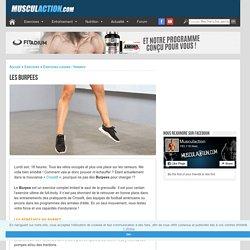 Exercice de musculation : Burpee
