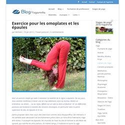 Exercice pour les omoplates et les épaules
