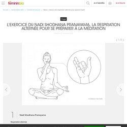 Stress : exercice de respiration alternée pour apaiser l'esprit