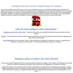 Exercices d'anglais CP, CE1, CE2, CM1, CM2