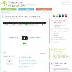 Exercices de conjugaison: Conjuguer un verbe dans une phrase