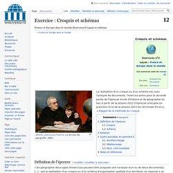 France et Europe dans le monde/Exercices/Croquis et schémas
