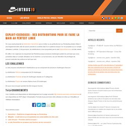 Exploit-Exercices : Des distributions pour se faire la main au Pentest Linux