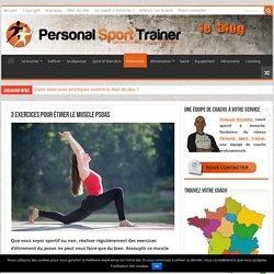 3 exercices pour étirer le muscle psoas
