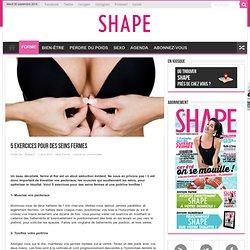 5 exercices pour des seins fermes