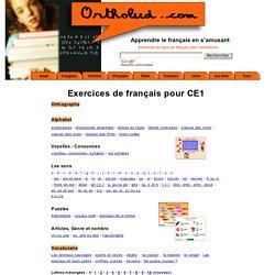 Exercices de français pour enfants de CE1 - 7 à 8 ans
