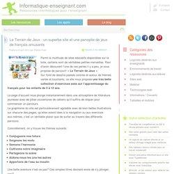Des exercices de français pour le primaire avec Le Terrain de Jeux