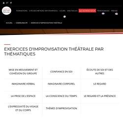 Exercices d'improvisation théâtrale - Théâtre Instant Présent