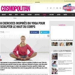 8 exercices inspirés du yoga pour sculpter le haut du corps