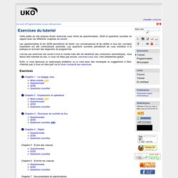 Exercices Java : Exercices du tutoriel