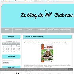 Exercices de lecture syllabique