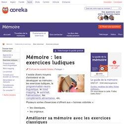 Exercices ludiques pour bien mémoriser - Ooreka