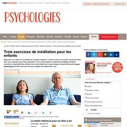 Exercices méditation enfant
