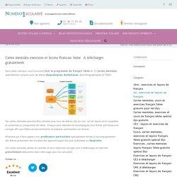 Exercices , cartes mentales leçons français 3ème gratuits spécial Dys