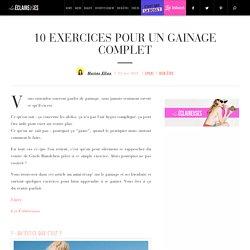10 exercices pour un gainage complet