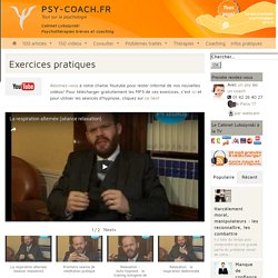 Exercices pratiques - Cabinet Lubszynski