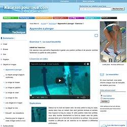 5 exercices progressifs avec vidéos pour apprendre à plonger
