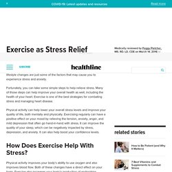 Exercise as Stress Relief