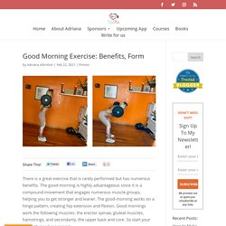 Good Morning Exercise: Benefits, Form