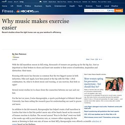 Why music makes exercise easier - Fitness