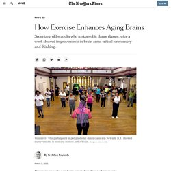 How Exercise Enhances Aging Brains