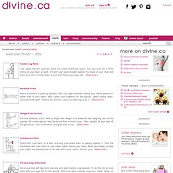 Exercise Finder, health - divine.ca - Page 4