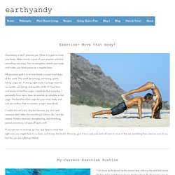 Exercise And Health Tips to Get Fit in Less Time — earthyandy