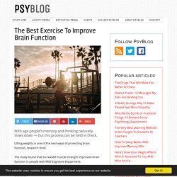 The Best Exercise To Improve Brain Function