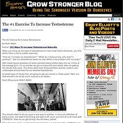 The #1 Exercise To Increase Testosterone
