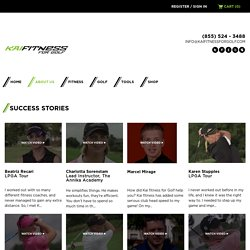 Kai Fitness for Golf Succes Stories