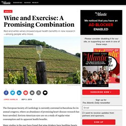 Wine and Exercise: A Promising Combination