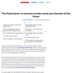 The Polak Game: an exercise to help reveal your theories of the future