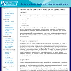 Sports, exercise and health science teacher support material