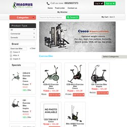 Shop Online Exercise Bike Gym Equipment at Best Price