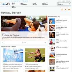 Exercise, Workout, and Fitness Center: Yoga, Cardio, Strength Training, and More