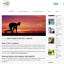 How to Exercise for Type 1 Diabetes - Exercise Right