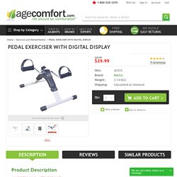Buy Pedal Exerciser With Digital Display Canada