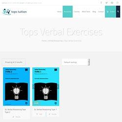 Tops Verbal Exercises