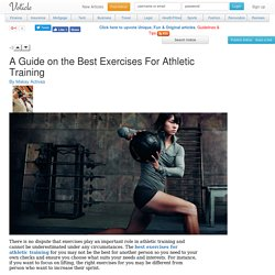 A guide on the best exercises for athletic training Voticle.com