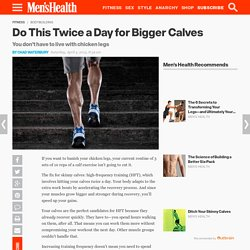 Exercises for Big Calves
